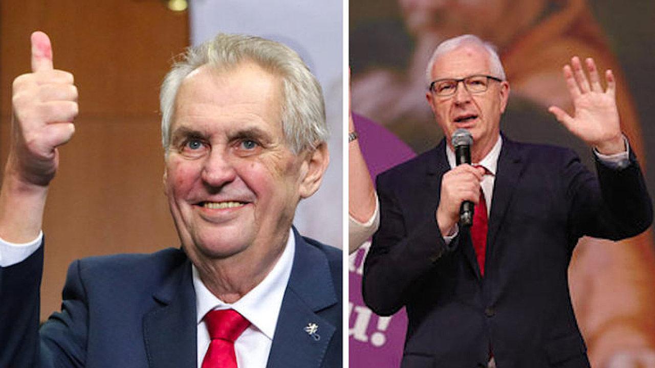 Zeman znovu na Hradě. Sledujte zásadní okamžiky volby prezidenta.