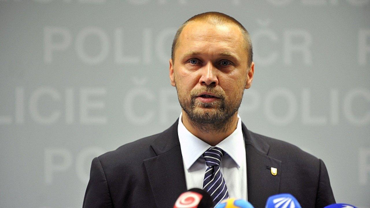 Ředitel Národní protidrogové centrály Jakub Frydrych.