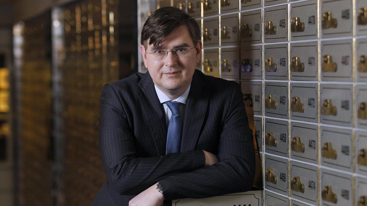 Člen bankovní rady ČNB Lubomír Lízal.