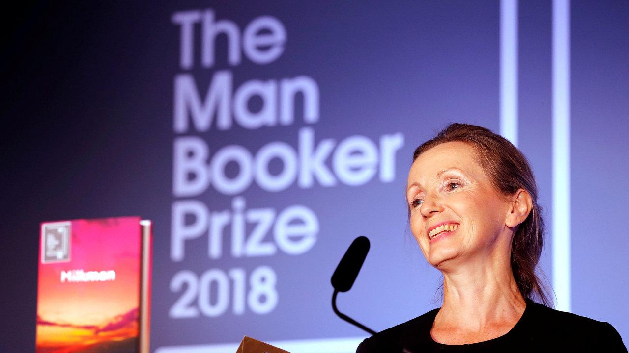 Man Bookerovu cenu za anglicky psaný román získala severoirská spisovatelka Anna Burnsová za knihu Milkman.
