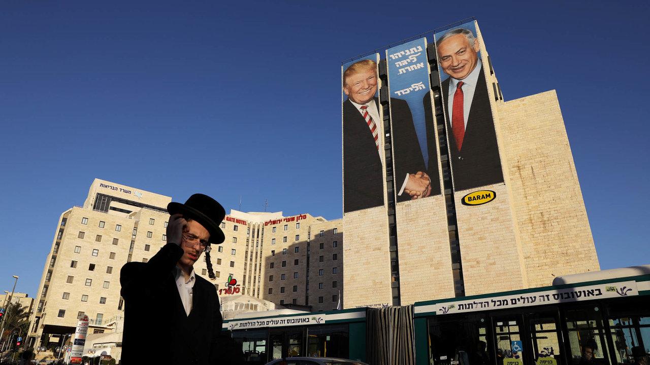 Prezidenta Trumpa apremiéra Netanjahua úzce pojí společné politické cíle. Otázkou ovšem je, vjaké kondici toto účelové přátelství přežijí jejich země, USA aIzrael.