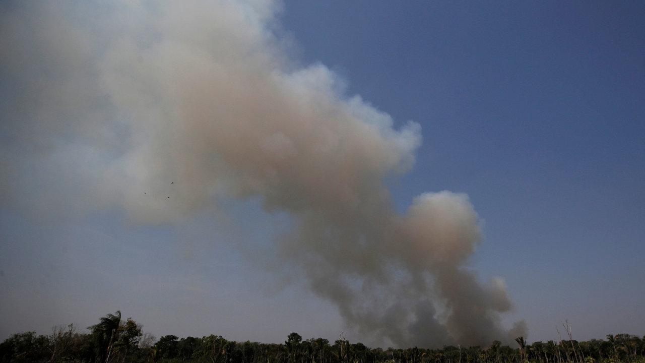 Brazílie, Amazonie, Požáry