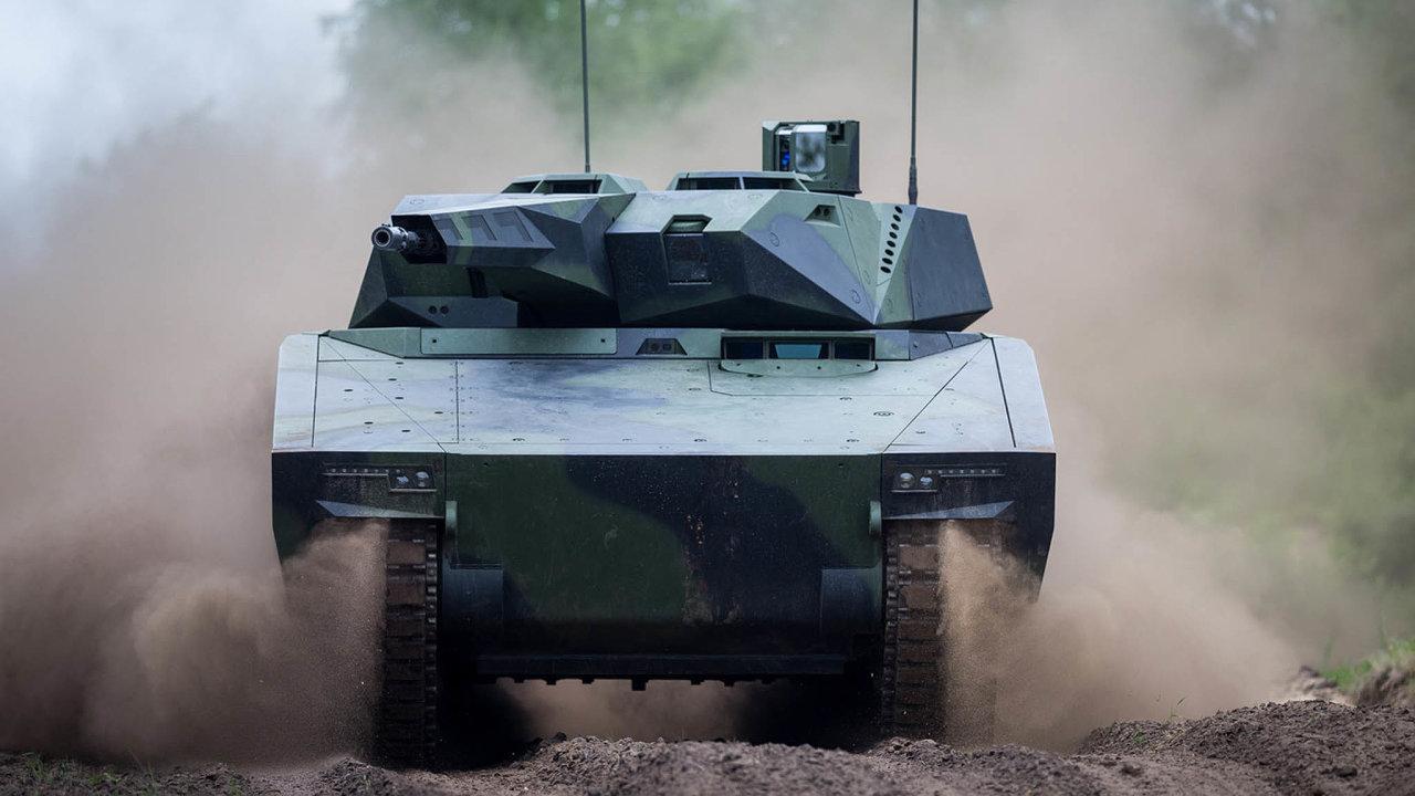 Lynx: Ultramoderní výrobek německé zbrojovky Rheinmetall zatím existuje jen vprototypech.