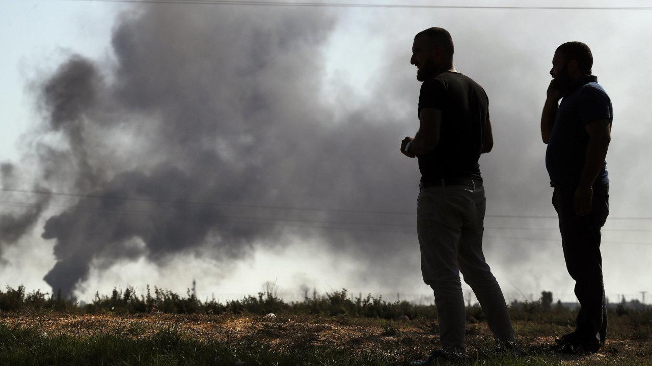 Turecko;Sýrie;boje;diplomacie;Kurdové