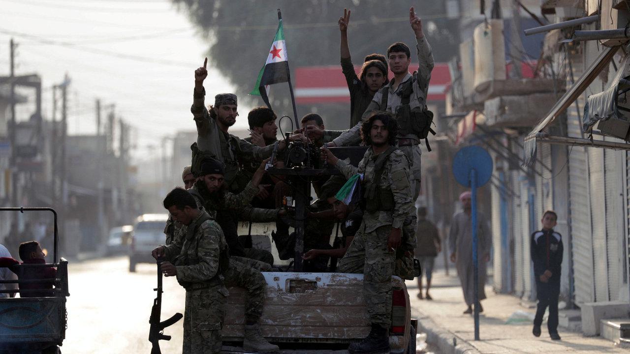 Turecká invaze v Sýrii je událostí číslo jedna posledních dní.