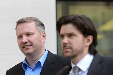 Majitel vexilu: Podnikatel František Savov (vlevo), kterému patří Mladá fronta, žije veVelké Británii.