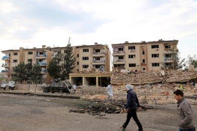 Zehra Doganová byla zatčena za to, že namalovala turecké vojáky ve zničeném kurdském městě Nusaybin (na snímku) v jihovýchodním Turecku. - Ilustrační foto.