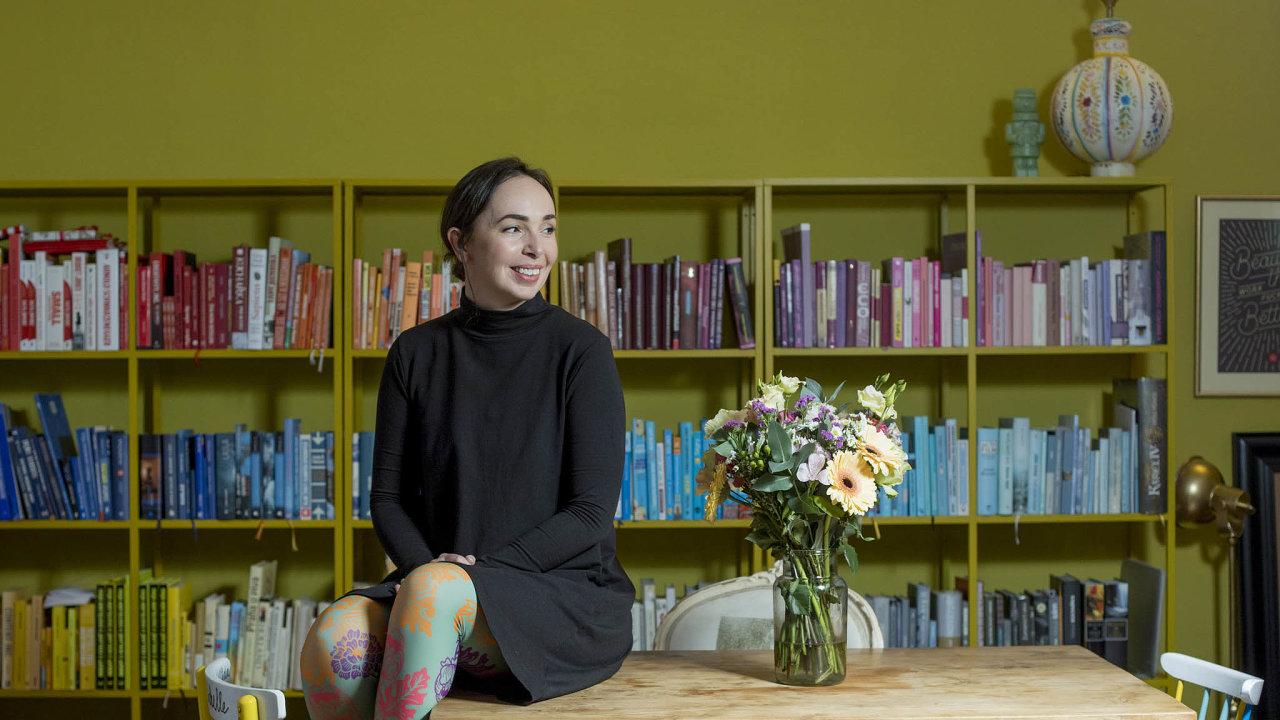 Michelle Losekootová pro své klienty vymýšlí strategie aobsah nasociální sítě, pečuje oon-line komunity apíše texty.
