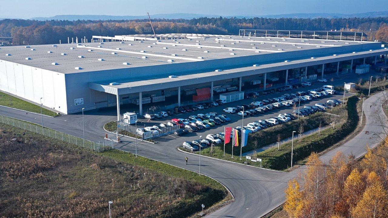 Logistický park v německém Waldaschaff patří do portfolia Maximus.