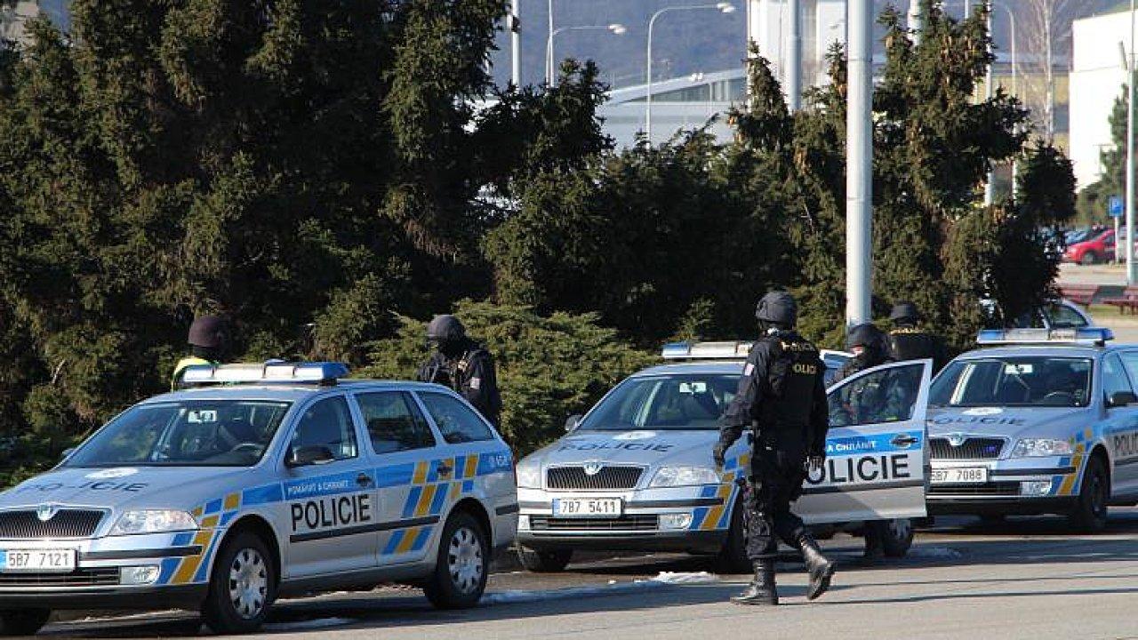 Policie zásah ilustrační