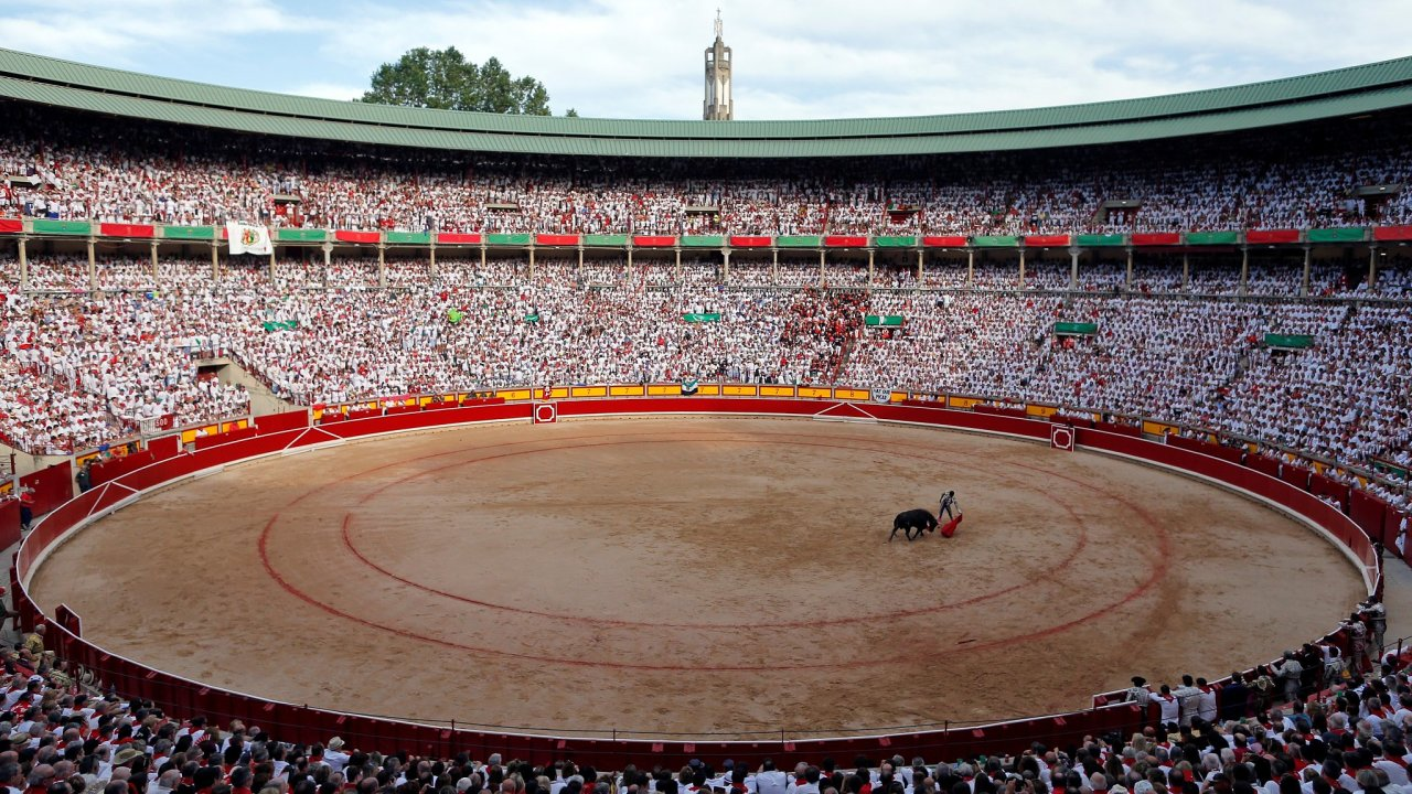 Korida, býčí zápasy, San Fermin festival, Pamplona