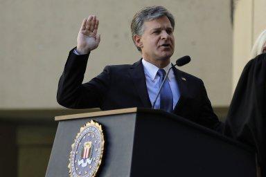 Christopher Wray je ředitelem FBI od roku 2017.