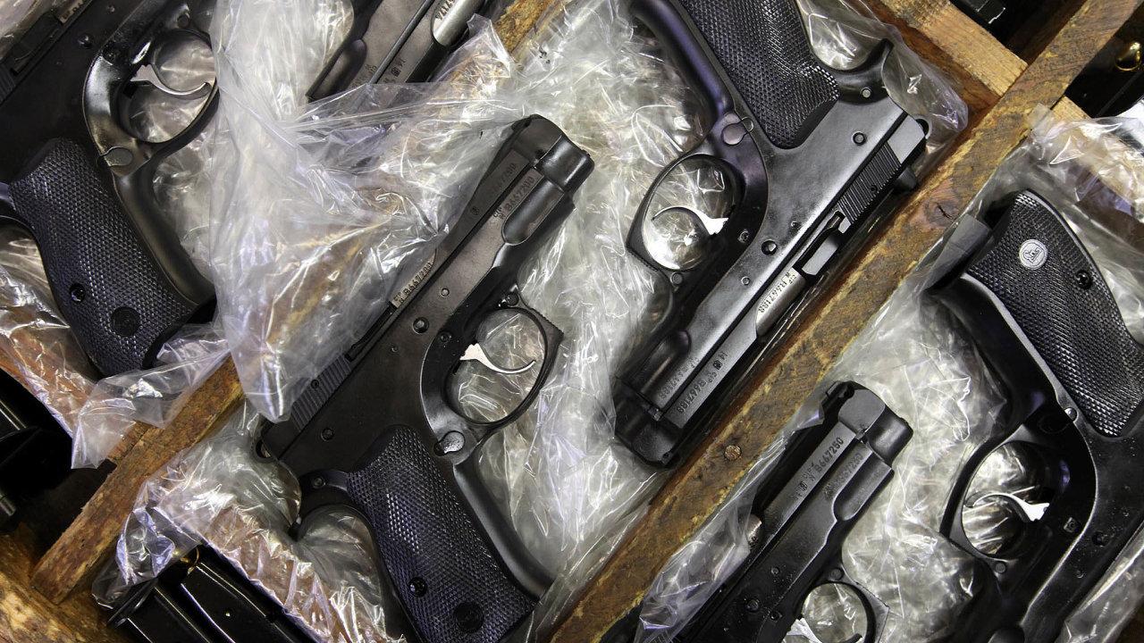 Počet prodaných zbraní zaprvní tři čtvrtletí 2020 dosáhl 337 489 kusů, což je meziroční nárůst o18,1procenta.