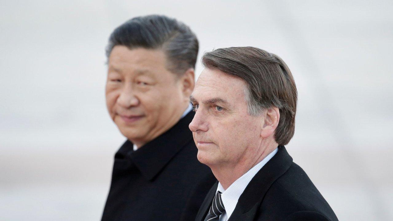 Jair Bolsonaro Si Ťin-pching