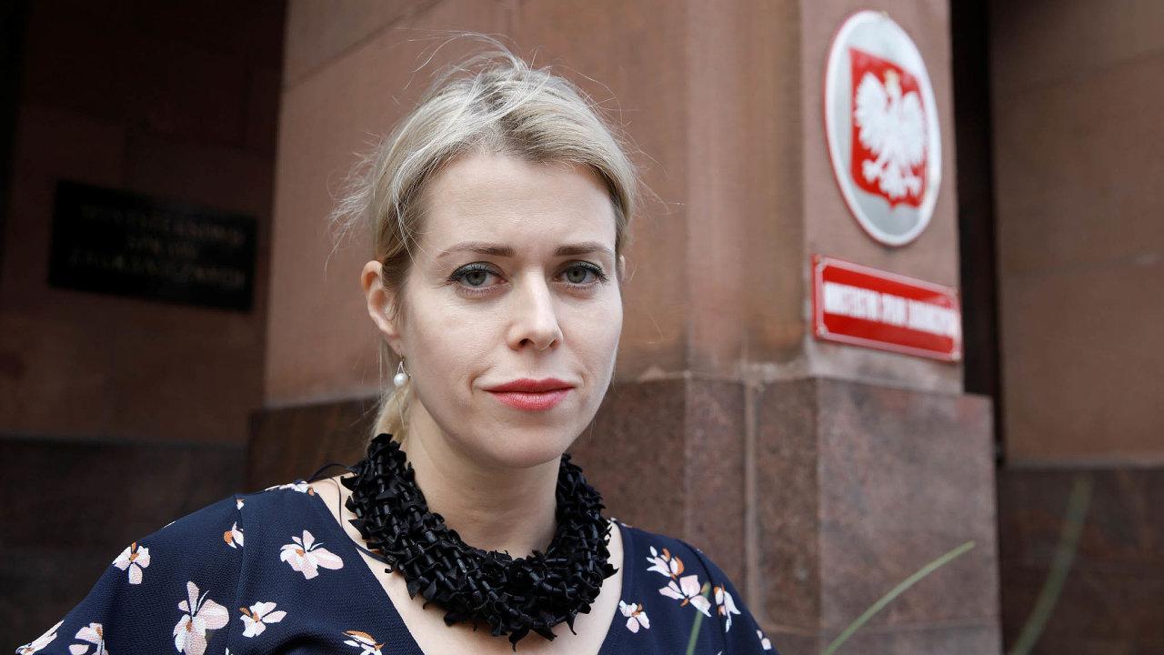Život vemigraci: Veranika Cepkalová kvůli hrozbě uvěznění odešla smanželem advěma syny zBěloruska doemigrace. Nyní žije veVaršavě.