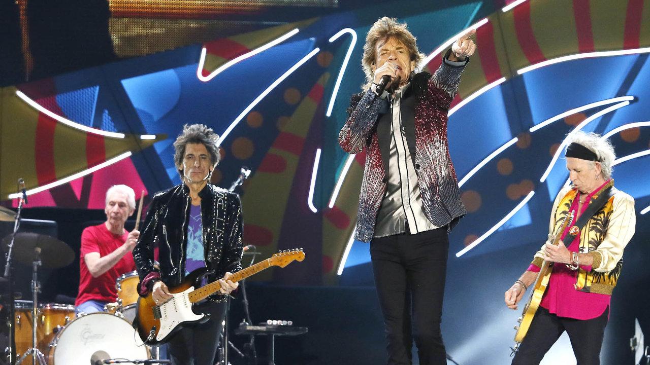Kdy zase přijedou Rolling Stones. Brexit komplikuje nejen obchod mezi Británií aEU, ale také celoevropská turné velkých britských hudebních skupin.