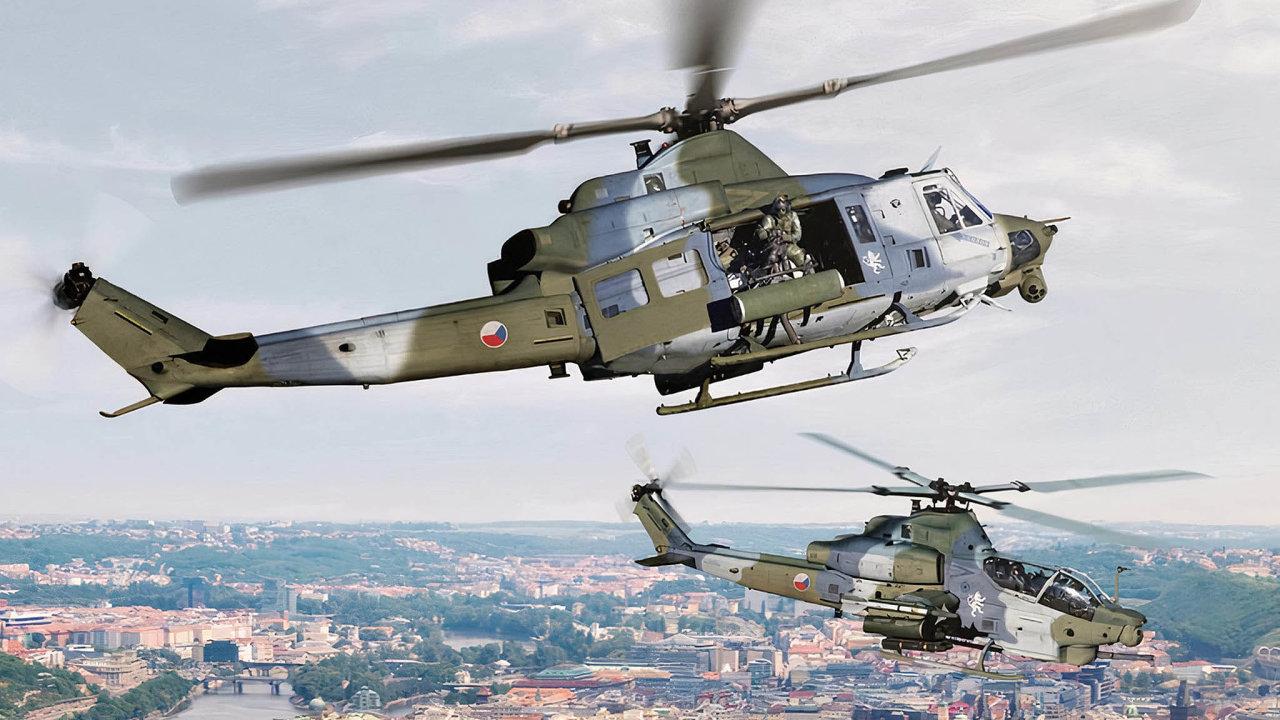 Armáda nakoupí nové bitevní vrtulníky Viper a víceúčelové Venom. Nahradit mají dosluhují stroje ruské výroby.