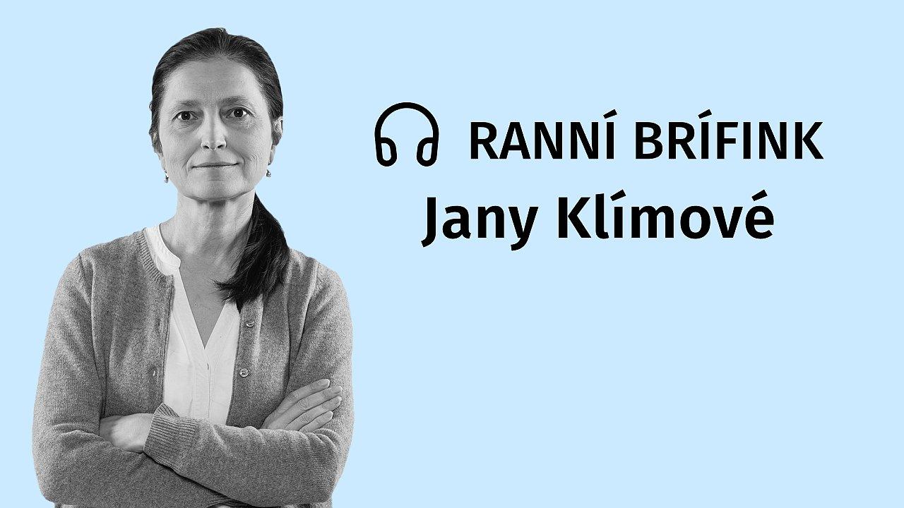 Podcast Ranní brífink Jany Klímové