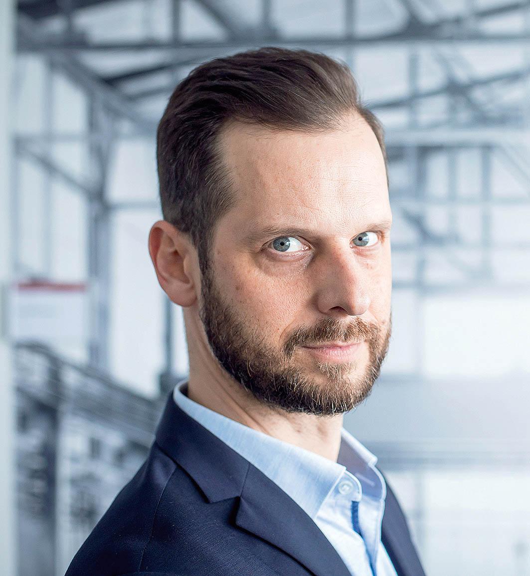 Jednatel aředitel Linde Material Handling Česká republika David Čepek