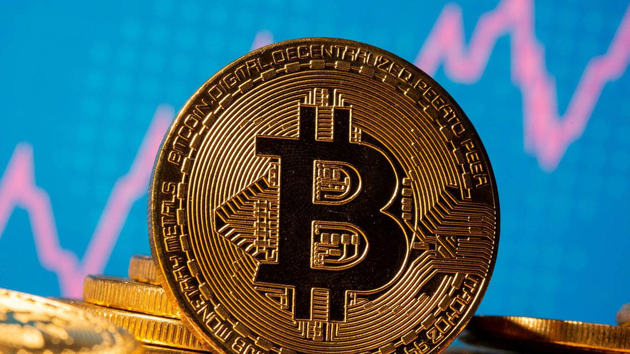 Bitcoin se prudce propadl