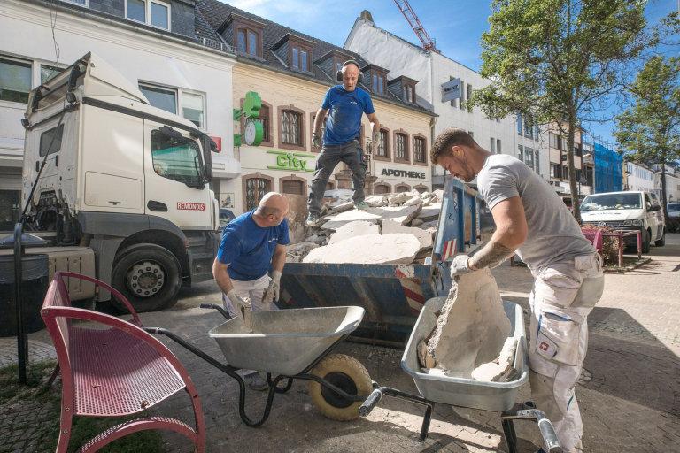Volby, povodeň, Německo
