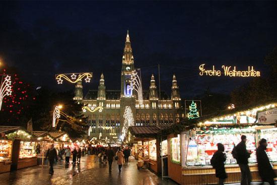 Vídeň, vánoční trhy