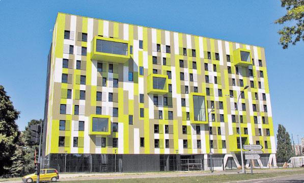 Zelen budovy uspo miliardy ale z jem o n je zat m n zk - Residence languedoc rennes ...