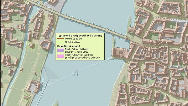 Mapa Povodnova Mapa Praha