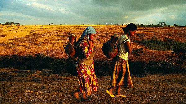 Afrika, ilustrační foto