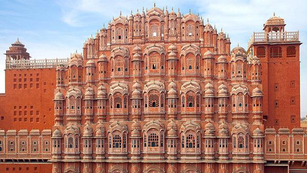Hawa Mahal, Rádžasthán, Indie
