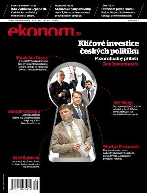 Týdeník Ekonom - č. 29/2012