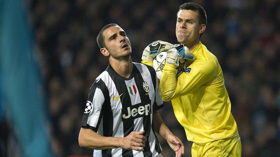 Juventus v Lize mistrů nestačil na dánský Nordsjaelland