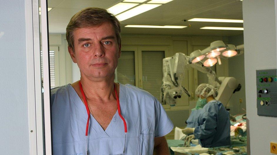 Petr Suchomel, primář neurochirurgického centra Nemocnice Liberec