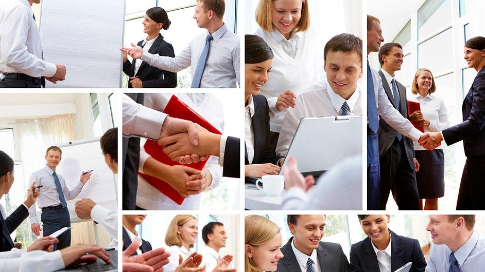 Manažerské vzdělávání - ilustrace.
