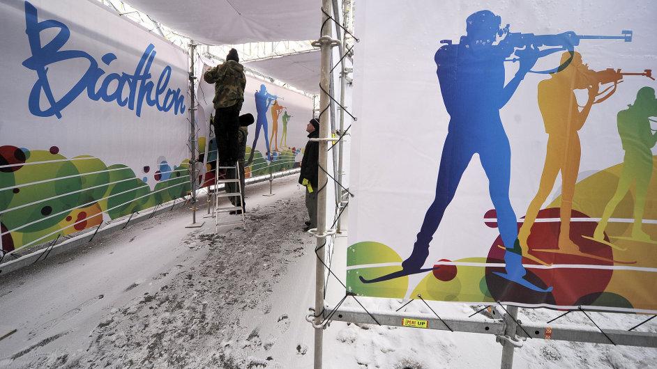 Vysočina aréna, dějiště MS v biatlonu 2013