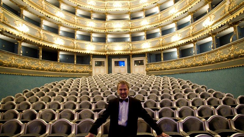 Marek Vrabec nyní kromě Strun podzimu vede i festival Dvořákova Praha.