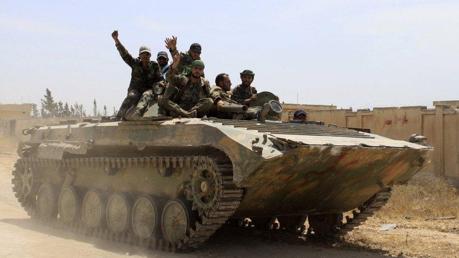Bojovníci Asadovy armády
