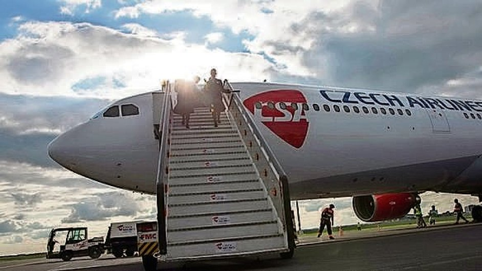 V ČSA má nyní podíl i Travel Service.