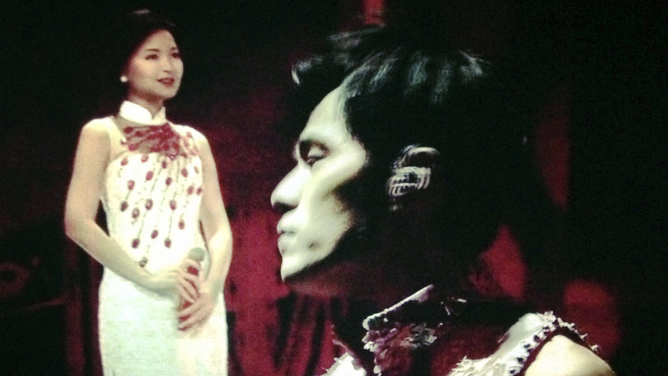 Virtuální zpěvačka Teresa Tengová a Jay Chou