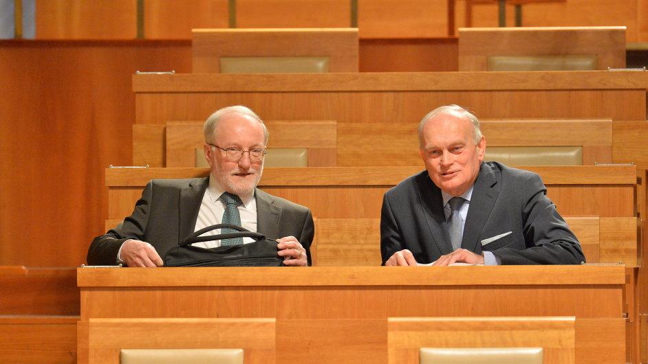 Senát schválil navrhované ústavní soudce Jiřího Zemánka a Jana Musila.
