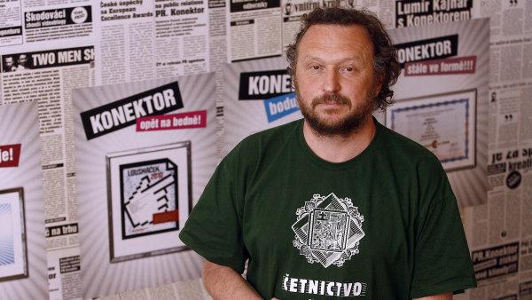 Kreativní ředitel reklamní agentury Konektor Martin Charvát