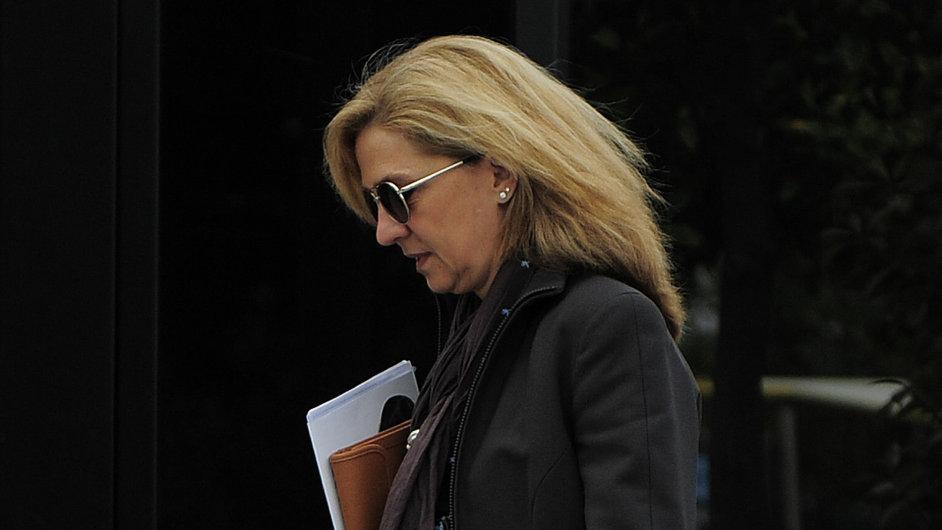 Španělská princezna Cristina je podezřelá z daňových podvodů a praní špinavých peněz.