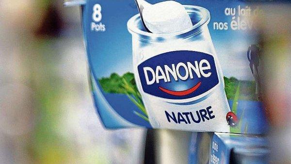 Jogurtová jednička doplatila na menší odbyt v Číně.