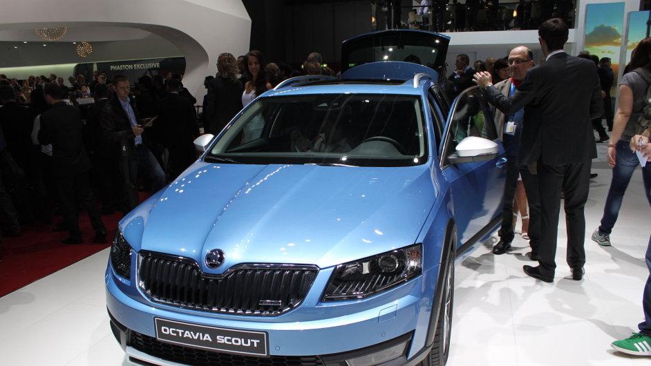 Prodeje Škody Auto táhne model Octavia. Nová generace Octavia Scout se má začít prodávat v srpnu.