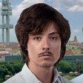 Mat�j Stropnick� a jeho osobit� friz�ra na p�edvolebn�m plak�tu