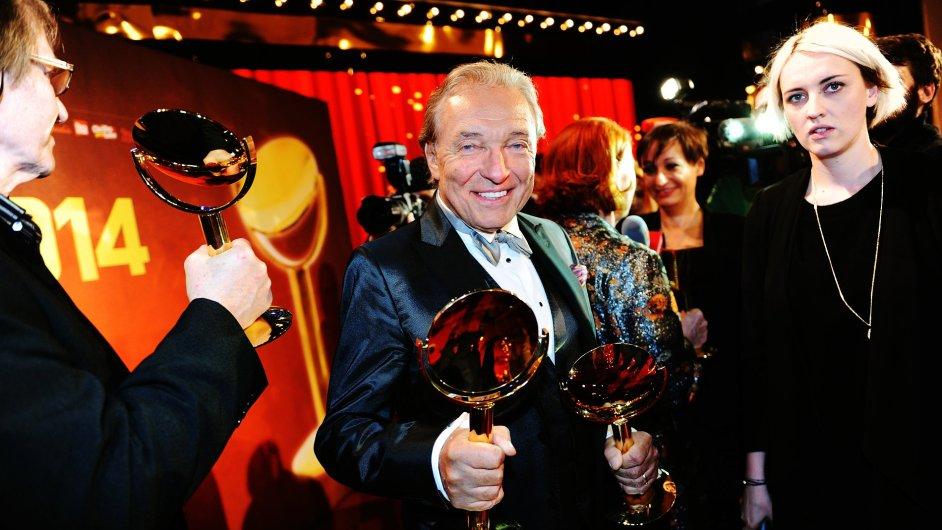 Absolutním vítězem ankety osobností televizní obrazovky TýTý se stal zpěvák Karel Gott.