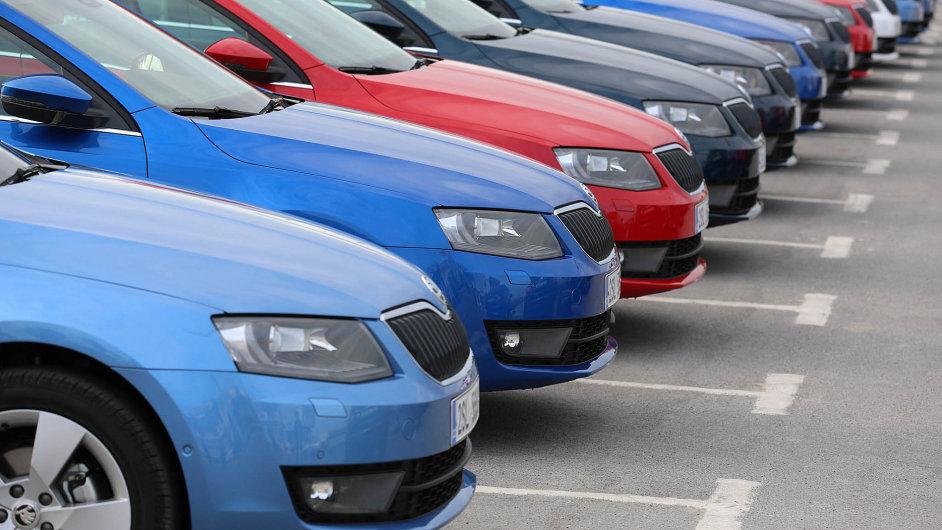 Vůz z Mladé Boleslavi byl v letošním prvním čtvrtletí nejprodávanějším na domácím trhu. Leasing přitom prakticky kopíruje celkové prodeje.