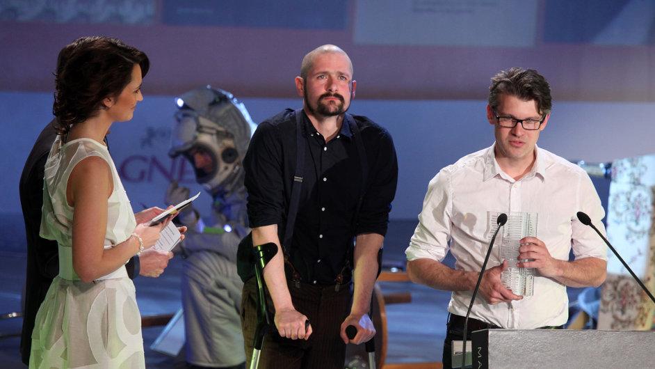 Jiří Franta a Ondřej Horák minulý měsíc přebrali knižní cenu Magnesia Litera 2015.