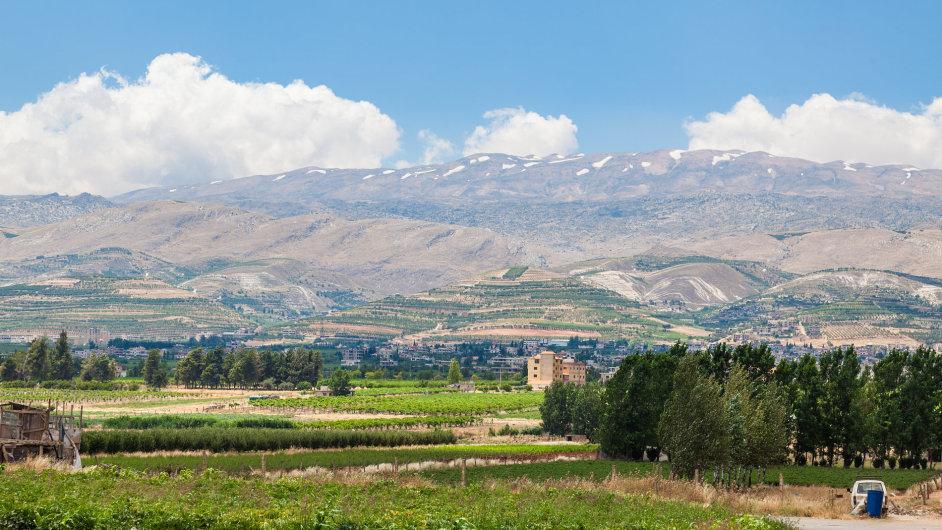 Libanon, údolí Bikáa