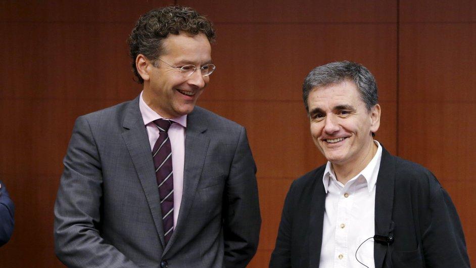 jednání euroskupina Dijsselbloem Tsakalotos